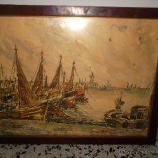 Arte: PRECIOSA ACUARELA FIRMADA POR ALBADALEJO. Lote 51811223