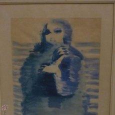 Arte: RAFAEL TEIXIDÓ MARINÉ (LÉRIDA 1930) AMB PLAIER D'ANIMA 1970. Lote 51816540