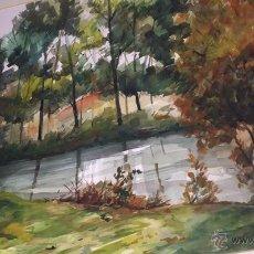 Arte: ACURELA ,RIO JUBIA,DEL ARTISTA GALLEGO ANTONIO FERNANDEZ. Lote 52624647