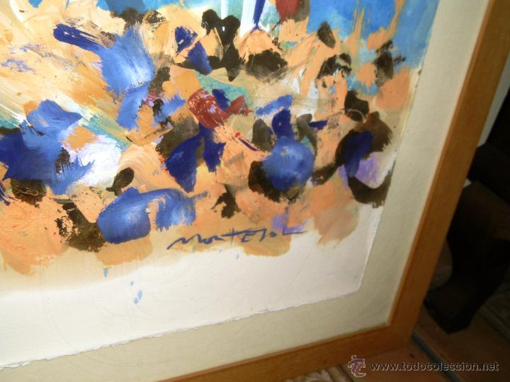 Arte: ESPECTACULAR 140 x 100 CMS MONTESOL CASTELLS XIQUETS REUS - Foto 4 - 52675548
