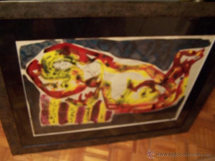 Arte: JOSÉ CABALLERO Técnica Mixta sobre papel 54x74 cm - Foto 4 - 44956003
