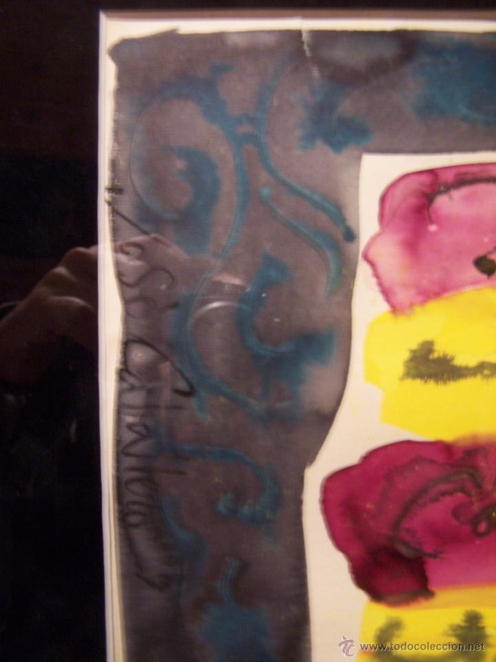 Arte: JOSÉ CABALLERO Técnica Mixta sobre papel 54x74 cm - Foto 5 - 44956003