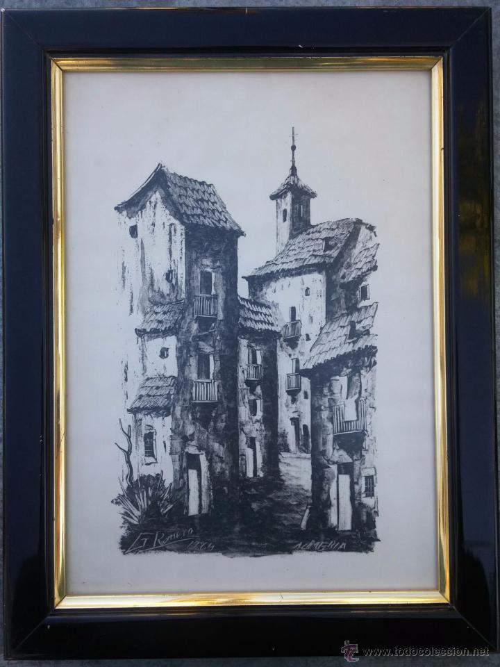 g. romero - almería - obra enmarcada - 1984 - b - Comprar Acuarelas ...