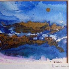Arte: ACUARELA ORIGINAL DE WOLFANG R.REITER. Lote 53393822