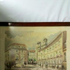 Arte: PAISAJE DE BILBAO-FIRMADO-FECHADO.MEDIDA 76CM X 54CM.. Lote 53402389