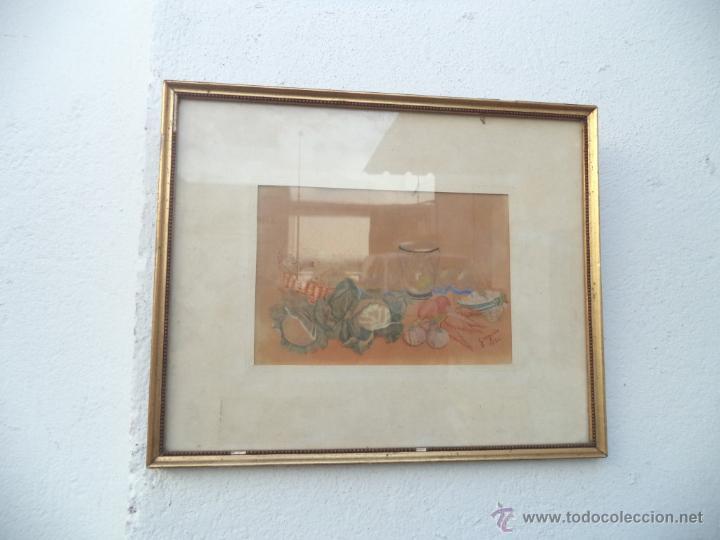 ACUARELA BODEGON (Arte - Acuarelas - Contemporáneas siglo XX)