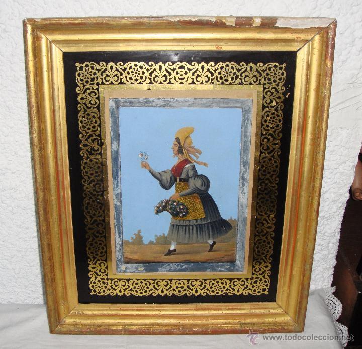 antigua acuarela. s.xix. enmarcada como un grab - Comprar Acuarelas ...