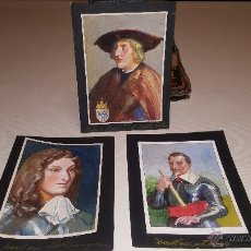 Arte: 7 PRECIOSAS ACUARELAS DE MAXIMILIANO I, WALLENSTEIN, KARL VON LOTHRINGEN, DERFLINGER Y OTROS. Lote 53818013