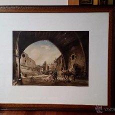Arte: ACUARELA JOAN COLOM I AGUSTÍ 1879 - 1964. Lote 54545506