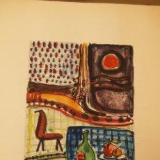 Arte: ACUARELA DE ERNEST IBAÑEZ NEACH / LLEIDA 1920 - 2011. Lote 54765911