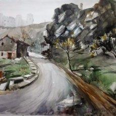 Arte: PUENTE DE ALCÁNTARA (ALREDEDORES) TOLEDO, POR RICARDO SACRISTÁN ARRIETA (VITORIA 1921-1980). Lote 54988905