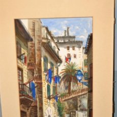 Arte: ACUARELA DE GUILLERMO MOLINA (1904 - 1975) - ARTISTA REFERENCIADO. Lote 55003604