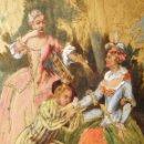 Arte: IDEAL SASTRE, SASTRERIA, TIENDA DE ROPA, SENSACIONAL OBRA HISTORICA LOUIS RENE BOQUET 1717-1818. Lote 55096740