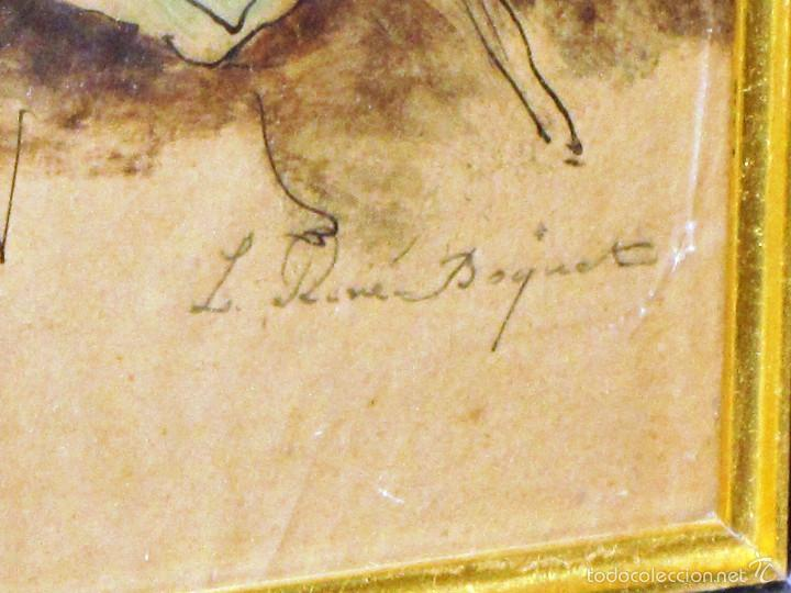 Arte: IDEAL SASTRE, SASTRERIA, TIENDA DE ROPA, SENSACIONAL OBRA HISTORICA LOUIS RENE BOQUET 1717-1818 - Foto 6 - 55096740