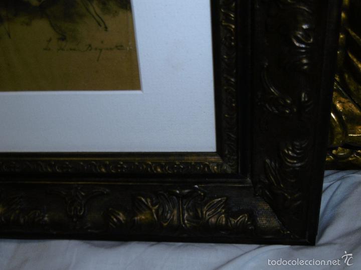 Arte: IDEAL SASTRE, SASTRERIA, TIENDA DE ROPA, SENSACIONAL OBRA HISTORICA LOUIS RENE BOQUET 1717-1818 - Foto 8 - 55096740