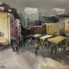 Arte: CALLE DE M DOLORS TRENCHS. Lote 55199246