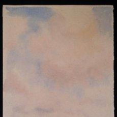 Arte: KURT VOSS: PAISAJE / ACUARELA DE 1943. Lote 55268391