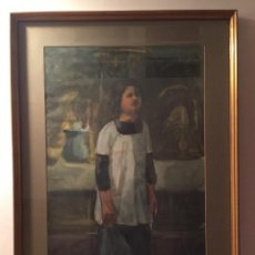 Arte: TOMAS SAYOL I SALA , ACUARELA SOBRE PAPEL - MONAGUILLO -. Lote 55712153