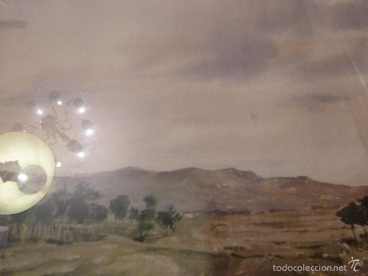 Arte: acuarela paisaje Acuarela.Marina.Fdo:J.Ribot Llupia.Año 1957. - Foto 7 - 55952501