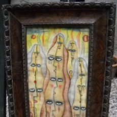 Arte: ALEJANDRO XUL SOLAR (1887-1963) PINTOR ARGENTINO - ACUARELA - PLURENTES (1949). Lote 56080360
