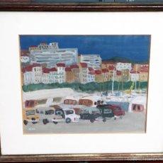 Arte: ACUARELA DEL PINTOR FRANCÉS HENRI REITER. Lote 56172952