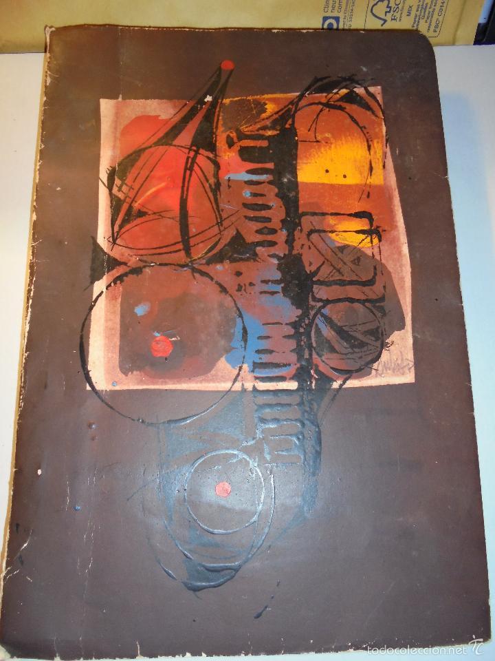Arte: SALVADOR DE AULESTIA - BARCELONA 1966 PINTURA ORIGINAL MAQUETA LIBRO ESCRITO A MAQUINA Y DIBUJOS A - Foto 8 - 56278594