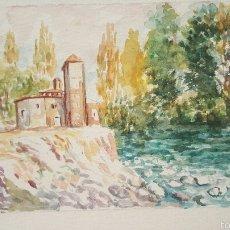 Arte: ACUARELA 18X24. Lote 56401739