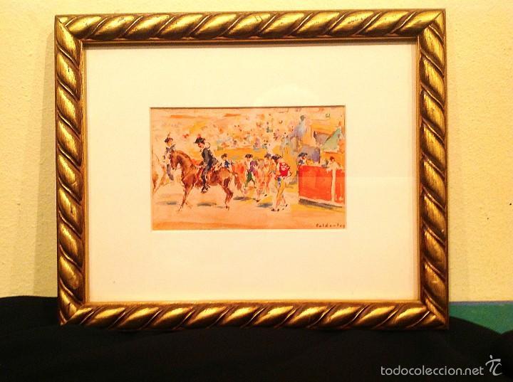 "Arte: Acuarela Del Pintor Joaquin Caldentey Salaverri ""QUINITO"" 1911- 1996 - Foto 3 - 56696358"
