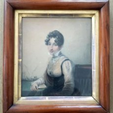 Arte: MARAVILLOSA ACUARELA DE JAMES GREEN 1771-1834, MARCO ORIGINAL, EXCELENTE CALIDAD. Lote 57024529
