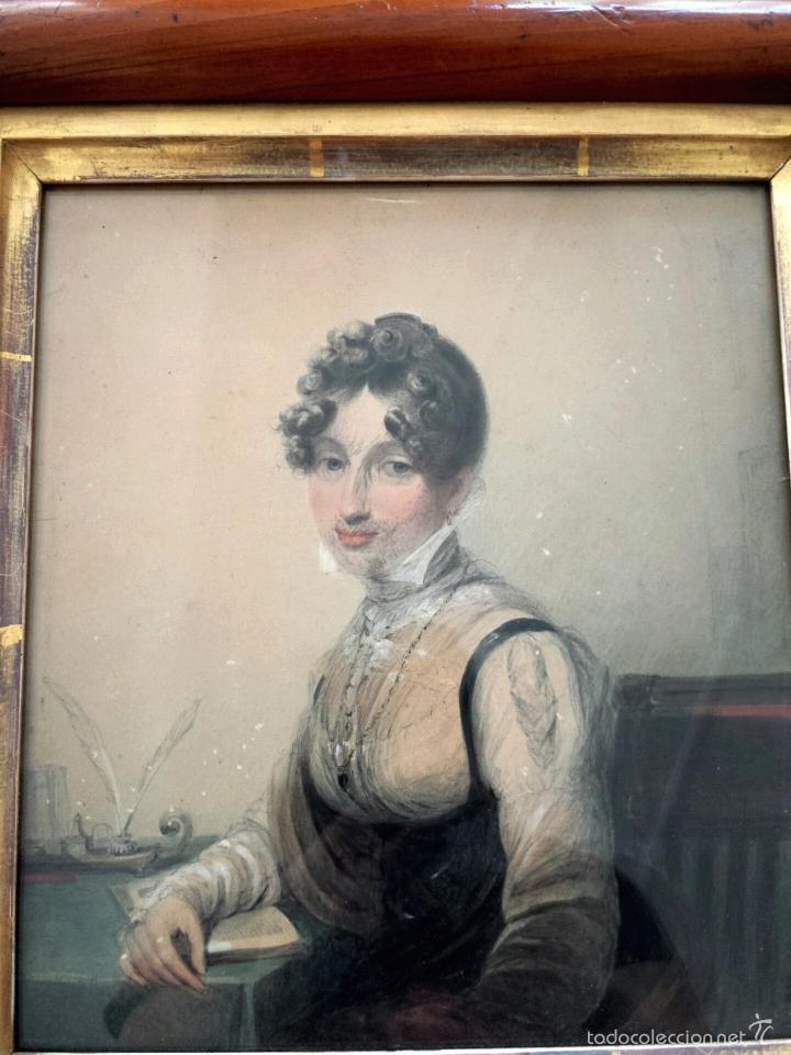 Arte: Maravillosa acuarela de James Green 1771-1834, marco original, excelente calidad - Foto 2 - 57024529