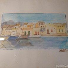 Arte: ACUARELA CASAS. Lote 57301392