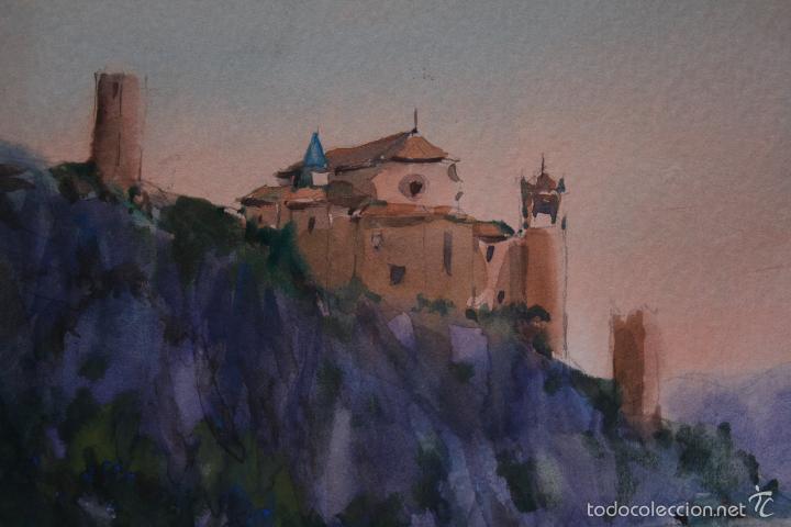 Arte: FELIPE-FELIP BRUGUERAS PALLACH, ( ACUARELA DE, ALQUEZAR, HUESCA ) - Foto 2 - 57834983