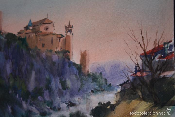 Arte: FELIPE-FELIP BRUGUERAS PALLACH, ( ACUARELA DE, ALQUEZAR, HUESCA ) - Foto 5 - 57834983