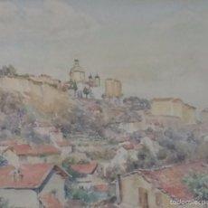 Arte: PAISAJE DE PUEBLO. Lote 57884012