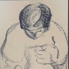 Arte: B- 212. DIBUJO A CARBON. FIRMADO: CASACUBERTA,. AÑO 1975.. Lote 57950927
