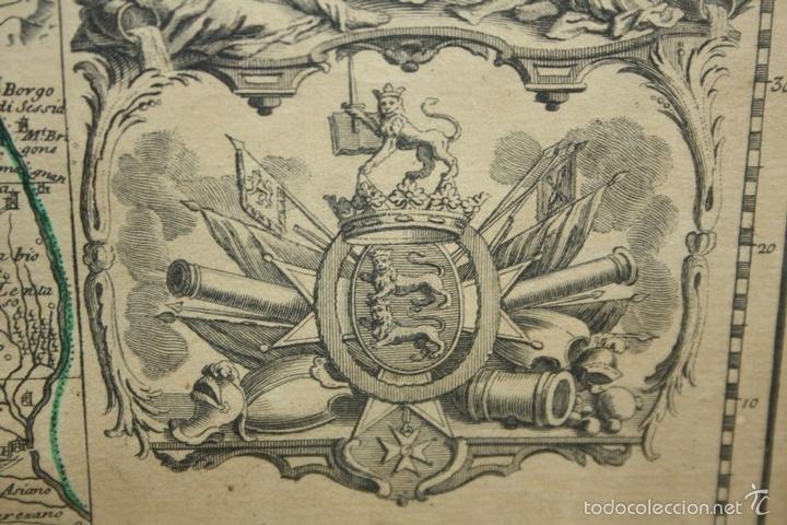 Arte: I3-043. THEATRE DE LA GUERRE(...) LE DAUPHINÉ(...) N. BAILLEUL. IMP. DAUDET. FRANCE.1747 - Foto 9 - 58124730