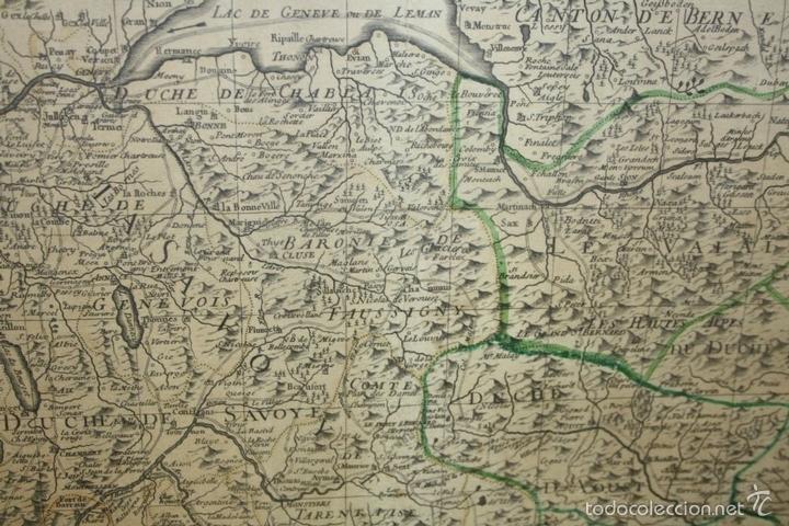 Arte: I3-043. THEATRE DE LA GUERRE(...) LE DAUPHINÉ(...) N. BAILLEUL. IMP. DAUDET. FRANCE.1747 - Foto 11 - 58124730