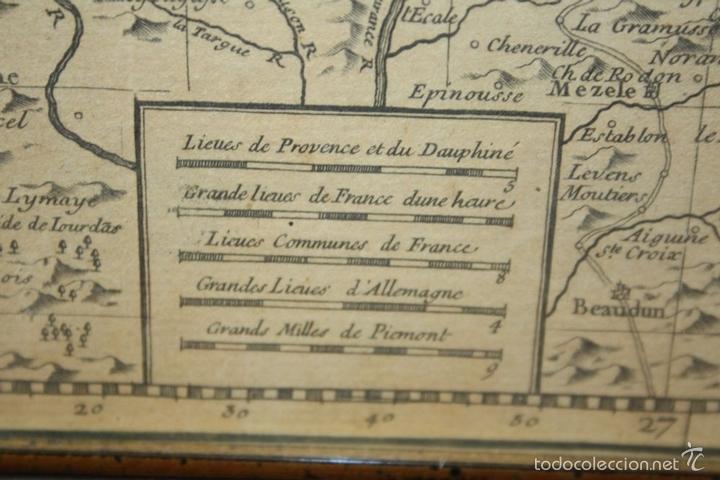 Arte: I3-043. THEATRE DE LA GUERRE(...) LE DAUPHINÉ(...) N. BAILLEUL. IMP. DAUDET. FRANCE.1747 - Foto 12 - 58124730