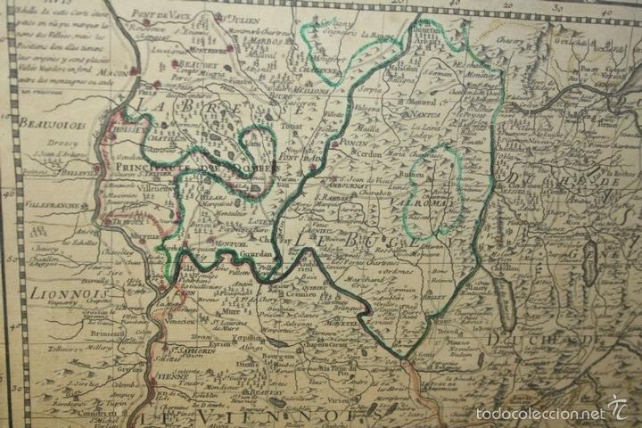 Arte: I3-043. THEATRE DE LA GUERRE(...) LE DAUPHINÉ(...) N. BAILLEUL. IMP. DAUDET. FRANCE.1747 - Foto 14 - 58124730