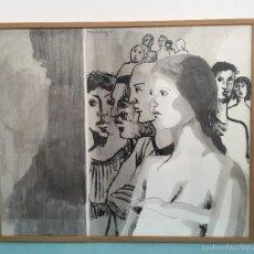 Arte: JOAN GRANADOS LLIMONA , DIBUJO A TINTA SOBRE PAEL GRUESO , VER REFERENCIAS. Lote 58207474