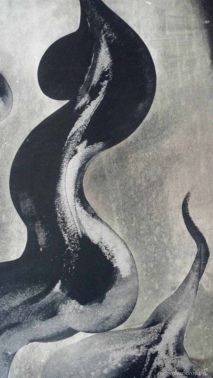 Arte: Alfredo VILA MONASTERIO: gouache y tinta, 1964 / firmado a mano - Foto 3 - 58241425