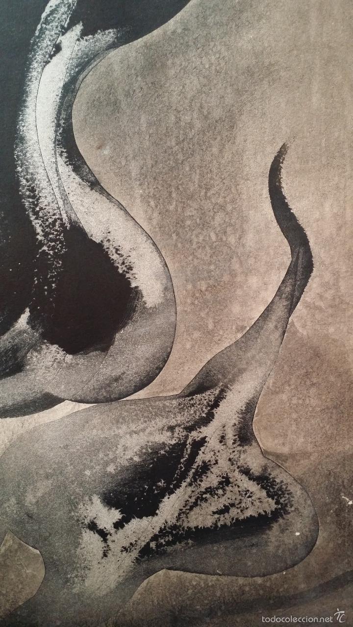 Arte: Alfredo VILA MONASTERIO: gouache y tinta, 1964 / firmado a mano - Foto 4 - 58241425