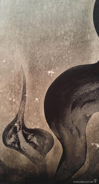 Arte: Alfredo VILA MONASTERIO: gouache y tinta, 1964 / firmado a mano - Foto 5 - 58241425