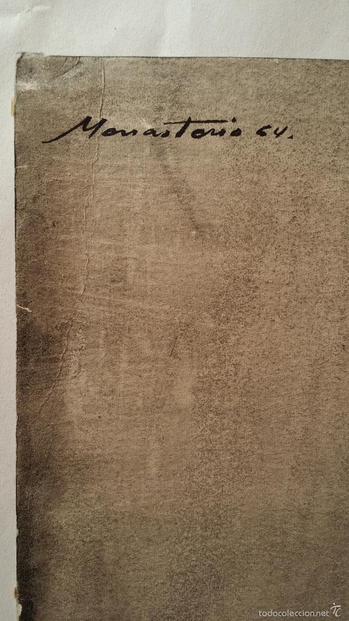 Arte: Alfredo VILA MONASTERIO: gouache y tinta, 1964 / firmado a mano - Foto 7 - 58241425