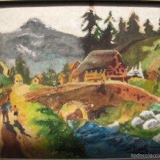 Arte: M. ESTEVE ACUARELA Y GOUACHE/PAPEL 35 X 26 CM. FIRMADA.. Lote 58367436