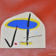 Arte: GOUACHE ORIGINAL , MOVIDA , ABSTRACCION . Lote 60856231