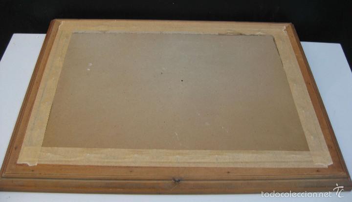 Arte: JOAN TORRABADELL Granollers, 1913 - 1991 GRAN ACUARELA CUADRO PINTURA - Foto 5 - 61272507