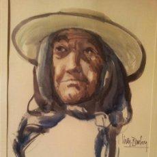 Arte: ANTONI VALLS BORDOY (1912-1980) ACUARELA . Lote 62248584