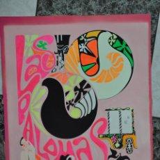 Arte: GOUACHE ORIGINAL DE JUAN LARA , CARTEL FIRMADO. Lote 62901032