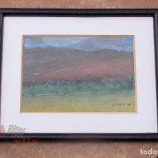 Arte: PAISAJE - ACUARELA DE L. COTS R. - 1990. Lote 63155432
